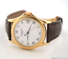 "Patek Philippe Calatrava 18k Rose Gold  ""Clous de Paris"" bezel 5117R-001"