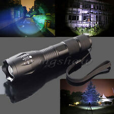 CREE T6 LED Rechargeable Flashlight Zoomable Waterproof Torch Light Lamp
