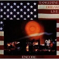 TANGERINE DREAM - ENCORE (LIVE & REMASTERED)  CD 4 TRACKS INTERNATIONAL POP NEU