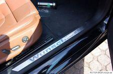 Edelstahl Einstiegsleisten VW Golf 1 Golf 2 Golf 3 Golf 4 Golf 5  Wunschtext