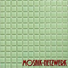 Mosaik Fliesen grün Glas Bad Küche Dusche Fliesenspiegel Art: 60-0502 | 10 Bögen