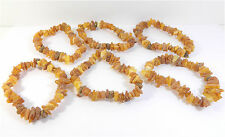 Medical Raw Baltic Amber stone bracelet
