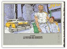 Affiche serigraphie HIRN 1996 FORBIDDEN WORLDS LE POUVOIR DES INNOCENTS 3 150ex