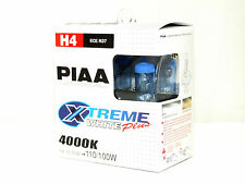 Piaa 4000K 110/100w XTreme White H4/HB2 Halogen Headlight High/Low Beam Bulbs A