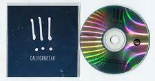!!! - cd-PROMO - CALIFORNIYEAH © 2013 - UK-2-Track-CD - Alternative Rock - Pop