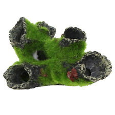 Mountain View Aquarium Tree Cave Bridge Fish Tank Resin Ornament Decoration NEW