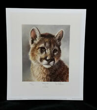 Puma Cub by Ian Nathan,Limited Edition,Signed & Stamped PRINT