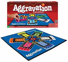 Aggravation Classic Game Marble Race Complete Board Milton Bradley Vintage New