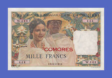 COMORES on MADAGASCAR - 1000 FRANCS 1963s - Reproductions