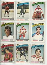 Lot of 10 Different 76-77 OPC O-Pee-Chee Cards **U-Pick** Complete Your Set