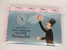 "1 pc x TOWN TALK Anti Tarnish Silver Polishing Cloth 30x45cm 12 x18"" LARGE SIZE"