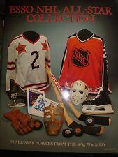 1988-89 ESSO NHL ALL-STAR COLLECTION ALBUM & 48 CARD SET GRETZKY, LEMIEUX, ORR