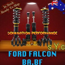 Coilover Kit - SYC Ford Falcon BA, BF Adjustable Coilovers