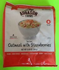 Augason Farms Instant Oatmeal w/ Strawberries Emergency Food Storage Survival