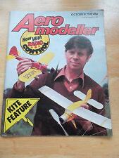 AEROMODELLER WITH RADIO CONTROL MODEL AIRCRAFT MAG OCT 1979 CENTRESPREAD PLANS