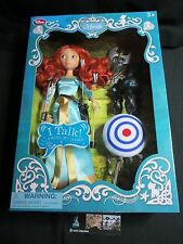 Disney Store Authentic Merida Deluxe Talking Doll Set - 11'' Brave