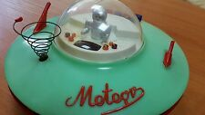 VINTAGE TOY METEOR SPACE SAUCER 1970s BATTERY OPERATE ORIGINAL MADE IN POLAND