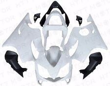 Unpainted ABS Plastic Fairing Cowl Bodywork For Honda CBR600 F4I 2001 2002 2003