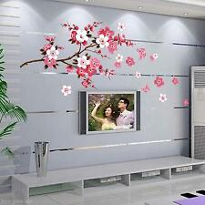 PVC DIY Flower Blossom Floral Home Wall Viny Art Sticker Living Room Decal Decor