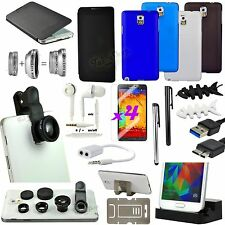 18 in 1 Accessory Case Charger Fish Eye For Samsung Galaxy Note 3 III N9000/9005