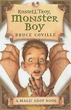 Bruce Coville Russell Troy, Monster Boy (Magic Shop) Very Good Book