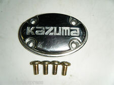 2004 Kazuma Cheetah CG200 Clutch Cover Chrome Insert Logo & Bolts