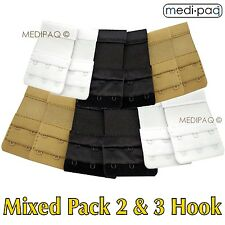 MEDIPAQ™ Bra Strap Extenders x12 -Temporary Weight Gain Pregnancy Tight Fitting