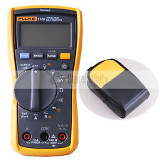 Fluke 117C Multimeter VoltAlert Backlight Meter + Case Gepolsterte Tragetasche