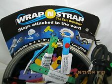 3 wrap  strap cord holder all purpose cord holders strap wrap a strap 3 straps