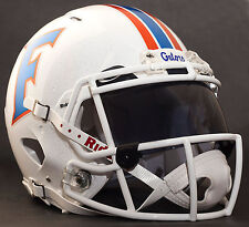 ***CUSTOM*** FLORIDA GATORS NCAA Riddell Speed AUTHENTIC Football Helmet