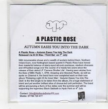 (FN268) A Plastic Rose, Autumn Eases You Into The Dark - 2014 DJ CD
