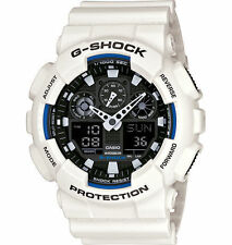 Casio Gshock GA100B-7A limited edition Men's white resin band watch Brand New!!