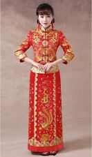 Chinese wedding dress QiPao Kwa cheongsam 46 Special Traditional Quan Kwa latest