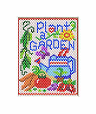 Plant A Garden~Pony Bead Banner Pattern Only