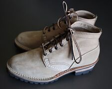 Wesco Burlap Rough Out Jobmaster Boot Sz 9.5D Kiltie $803 Smokejumper Semi Dress