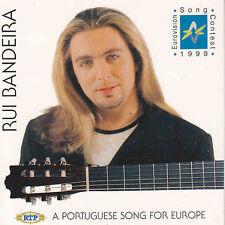 CD Single EUROVISION 1999 Portugal : Rui Bandeira Como tudo comecou 2-Track CARD