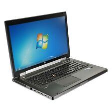HP Elitebook 8770w Core i7 3740Q 2,7 Ghz 16 GB 320 GB Webcam Windows 7