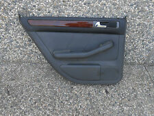 1999-2001 99-01 AUDI A6 2.8 LEFT REAR DRIVER SIDE DOOR PANEL LEATHER #PIC-2 D