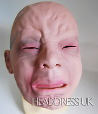Crying Baby Full Overhead Latex Rubber Mask Fancy Dress Halloween Costume