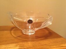 Stunning Lenox crystal Dolphin bowl made in Germany