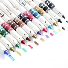 Multi-Color Women Waterproof Eyeliner Eyebrow Lipliner Eye Shadow Pencil Make Up
