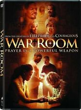 WAR ROOM DVD 2015 FROM The CREATORS OF FIREPROOF AND COURAGEOUS