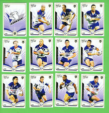 2006  CANTERBURY  BULLDOGS  RUGBY LEAGUE INVINCIBLE CARDS