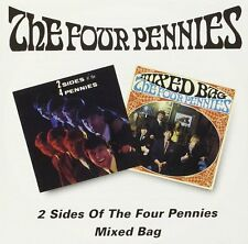 The Four Pennies 2 Sides Of The Four Pennies/Mixed Bag 2on1 CD NEW SEALED