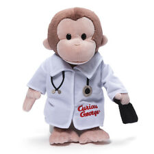 "GUND -  12"" CURIOUS GEORGE  - DOCTOR - #4048375 - RETIRED"