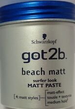 Schwarzkopf got2b Beach Matt PASTE Surfer Look 100ml