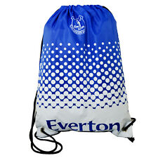 OFFICIAL EVERTON FC FADE GYM BAG PE SCHOOL SWIMMING SPORT NEW XMAS GIFT