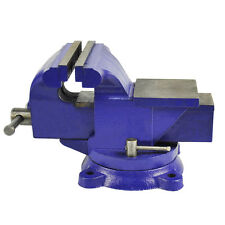 "Bench Vise Vice 125mm 5 Inch 5"" Jaw Clamp Swivel Base for Workbench Table Desk"