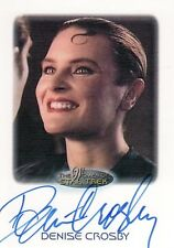Women Star Trek 2010 Denise Crosby as Lt. Tasha Yar Auto Card