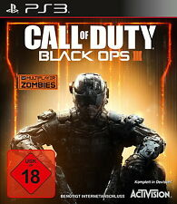 Playstation 3 jeu: Cod Black Ops 3 ps-3 Call of Duty incl. Black Ops NOUVEAU & OVP